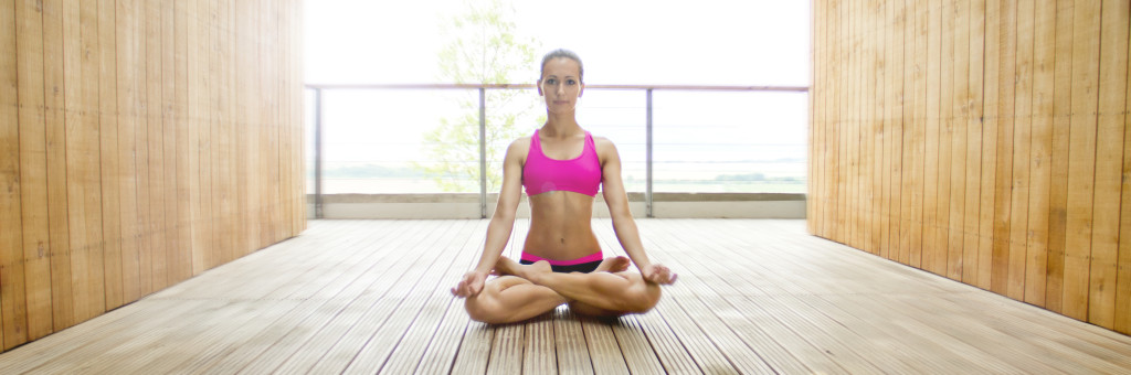 Calming down with Yoga