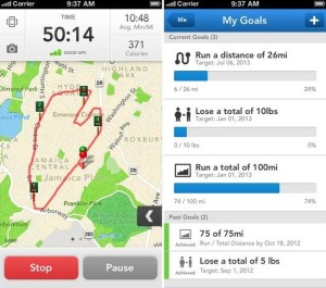 Runkeeper App Screen