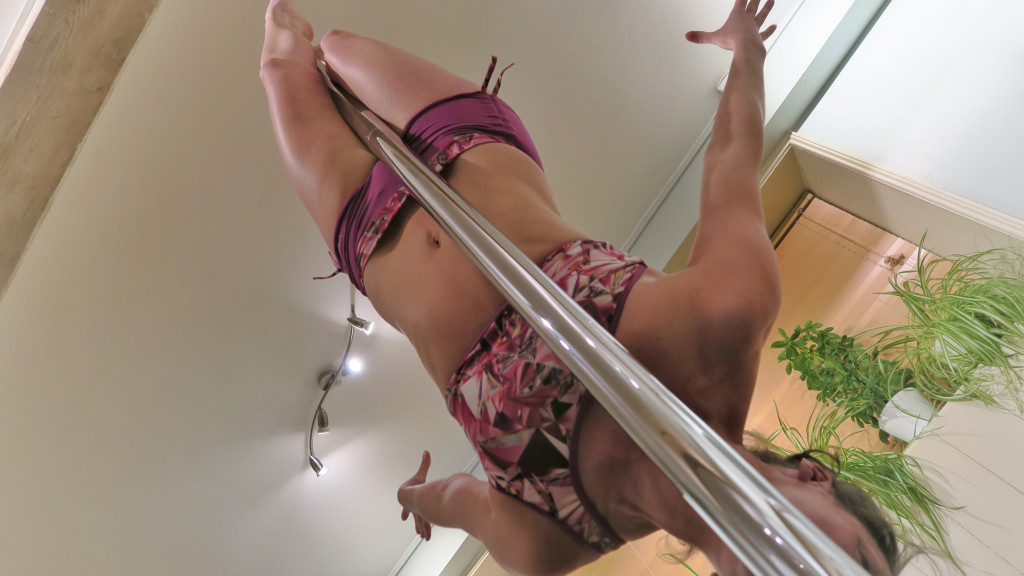 Crucifix Pole Dance Move