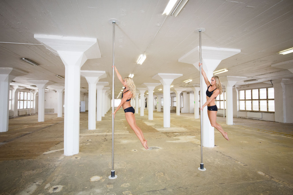Shooting Pole Twins Video for Dragonfly